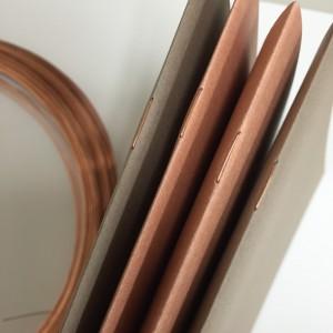 銅針金の中綴冊子
