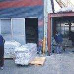 社長と品管室長と部長が総出で集塵機のお掃除#掃除 #製本工場 #20170322